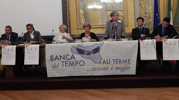 La Banca del Tempo di Alì Terme compie 20 anni. Una delegazione viene invitata dal Presidente dell'ARS a Palazzo dei Normanni