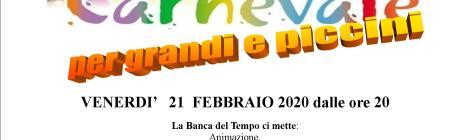 BdT di Rimini - Ligaza di carnevale 21 febbraio 2020 ore 20