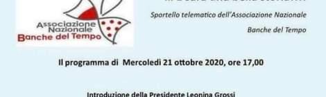 Sportello telematico delle BdT italiane - programma del 21 ottobre 2020