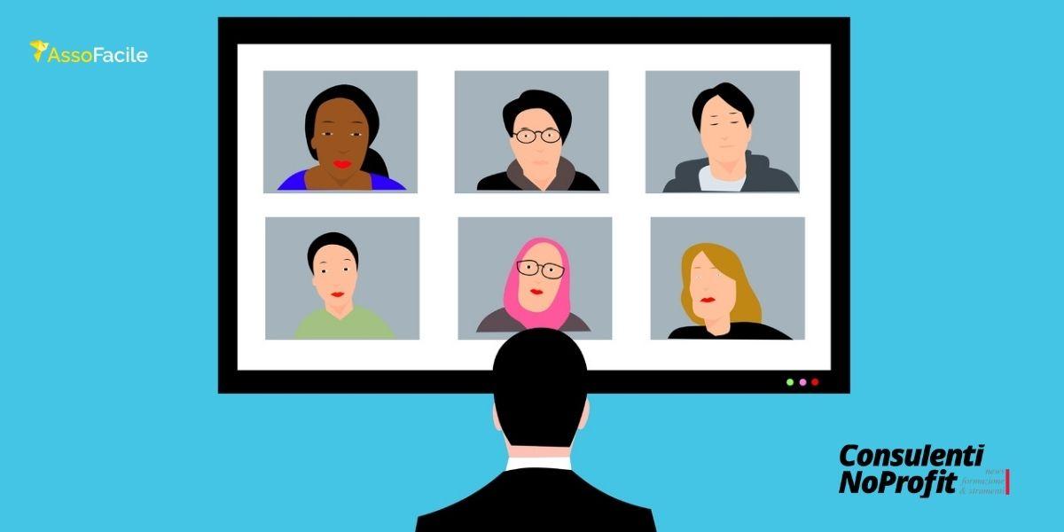 Come pianificare un evento virtuale con la tua associazione: 4 passaggi