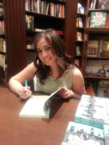 Author Angela Misri Signing her new book Jewel of the Thames