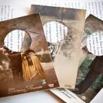 Assuna cartes postales transformées en badge