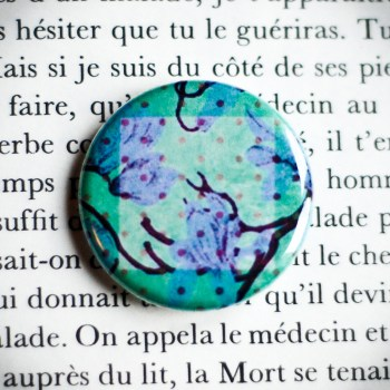 Badge Jardin Secret 2