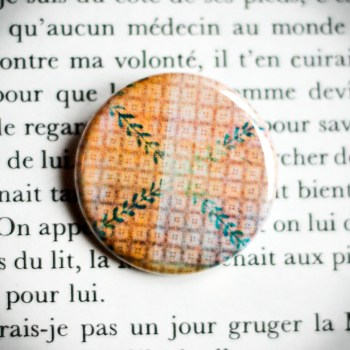 Badge Nappe Jaune 2