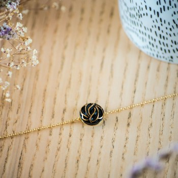 Bracelet simple chaîne Andrée or