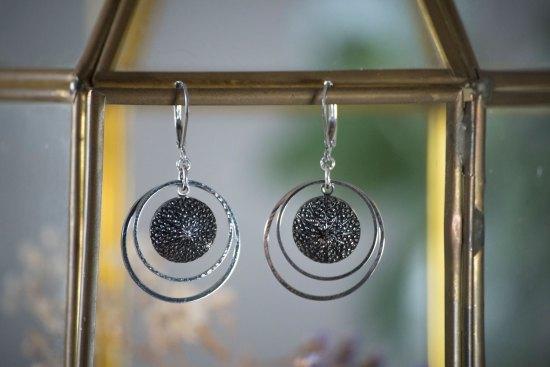 Assuna - Petites boucles Lunare Victoire - inspiration vintage