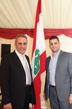 نادر أبو أنطون مع هاني أبو أنطون