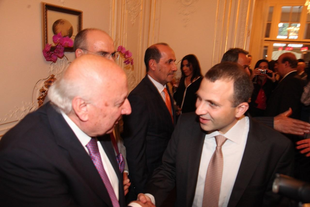 السفارة اللبنانية في لندن تكرّم الوزير جبران باسيل