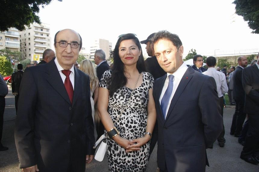 الوزير السابق زياد بارود والقاضية أرليت تابت والياس رحباني
