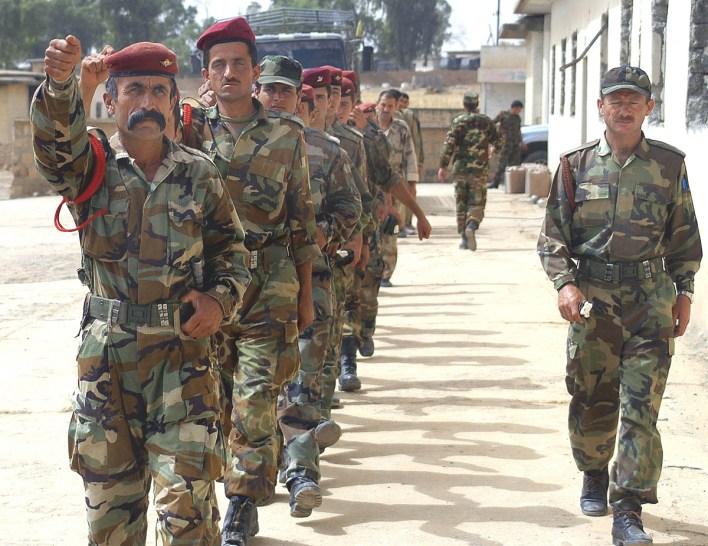"""""""البشمركة"""" الأكراد: زيادة قوتهم تقلق إيران وتركيا"""