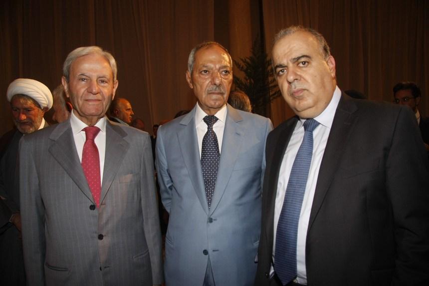 محمد جواد خليفة، طلال سلمان، فوزي صلوخ