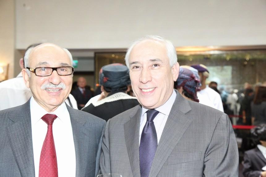 سفير الجزائر عمر أبا وسفير ليبيا محمد الناكوع