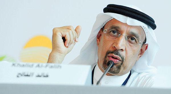 """رئيس مجلس إدارة أرامكو الوزير خالد الفالح: """"سيستفيد منتجو البتروكيماويات في المدى الطويل"""""""