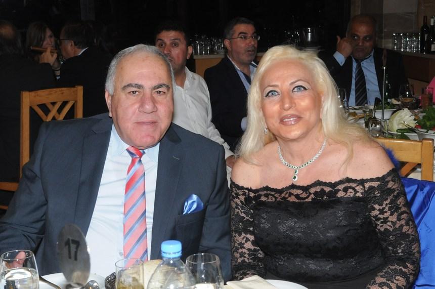إبراهيم رياشي وقرينته