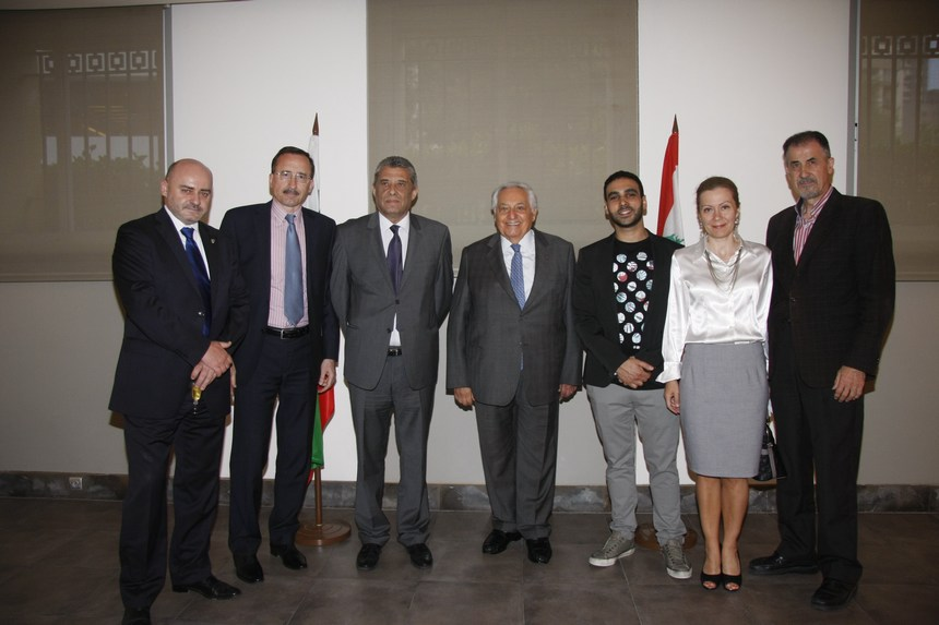 بلغاريا في عيون فنان لبناني