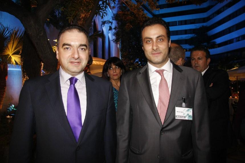 مارسيل سبيرو وأنطوان صفير