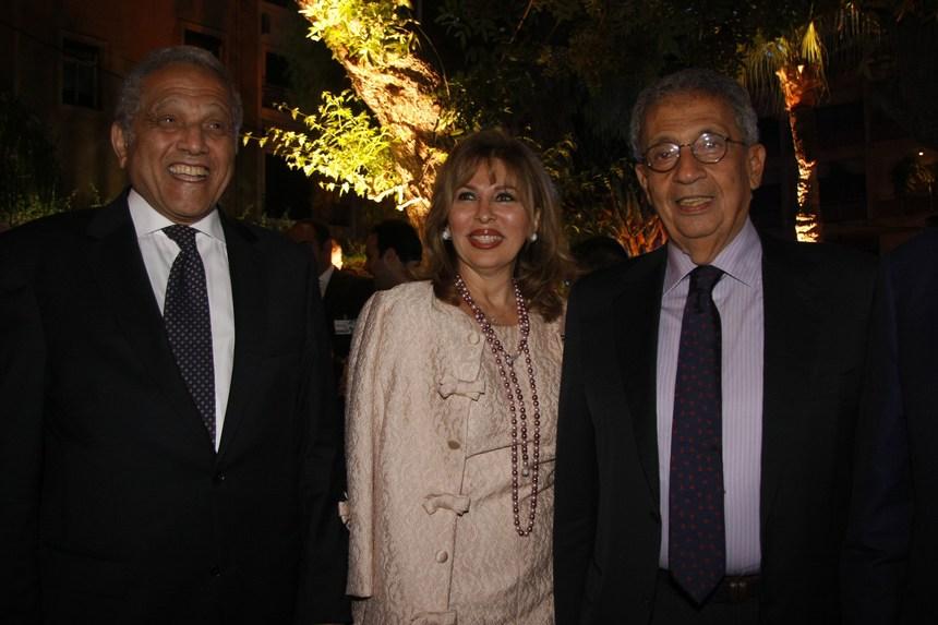 عمرو موسى، رنده بدير، السفير حسين ضرار