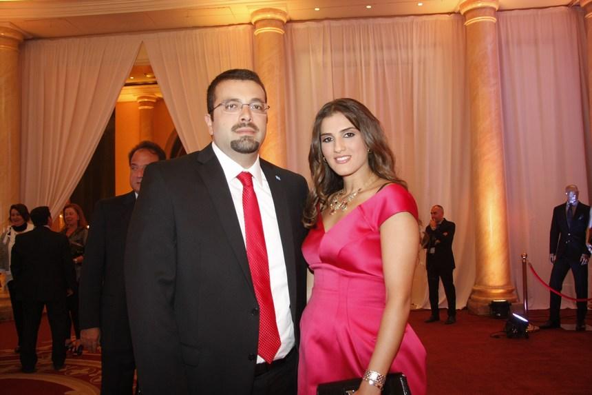 لمى وأحمد الحريري