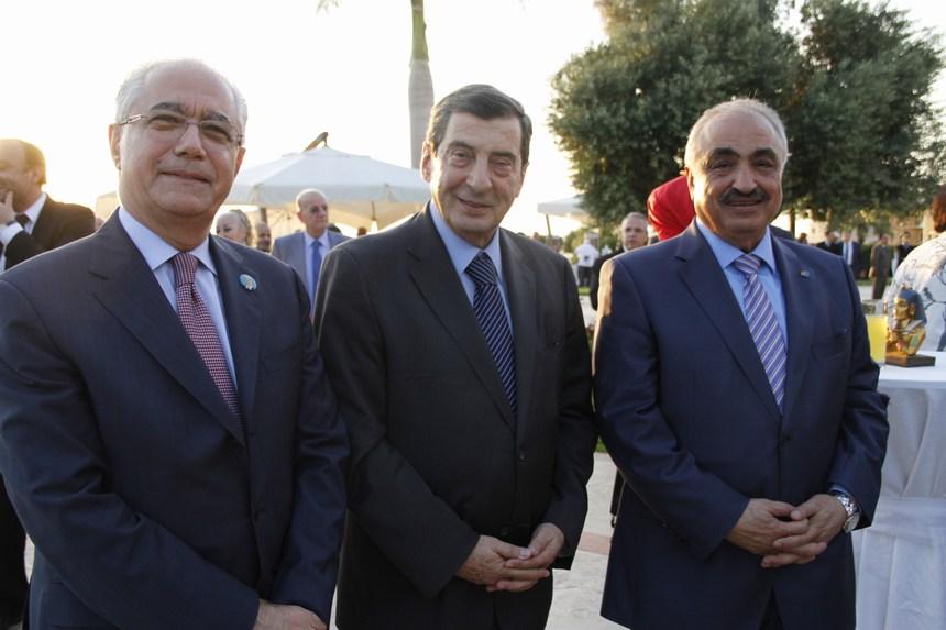 النائب محمد الحجار، إيلي الفرزلي، النائب عمار حوري