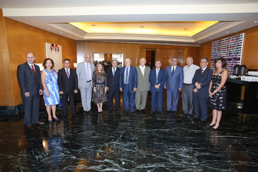 حفل إستقبال لمجلس نقابة محرري الصحافة اللبنانية