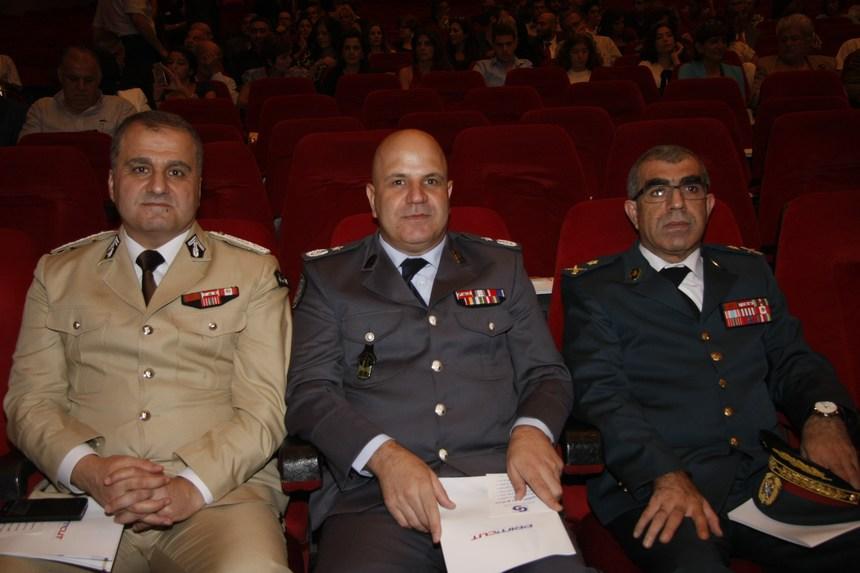 العميد علي قانصو، المقدم سعد كيروز، العقيد عدنان شعبان