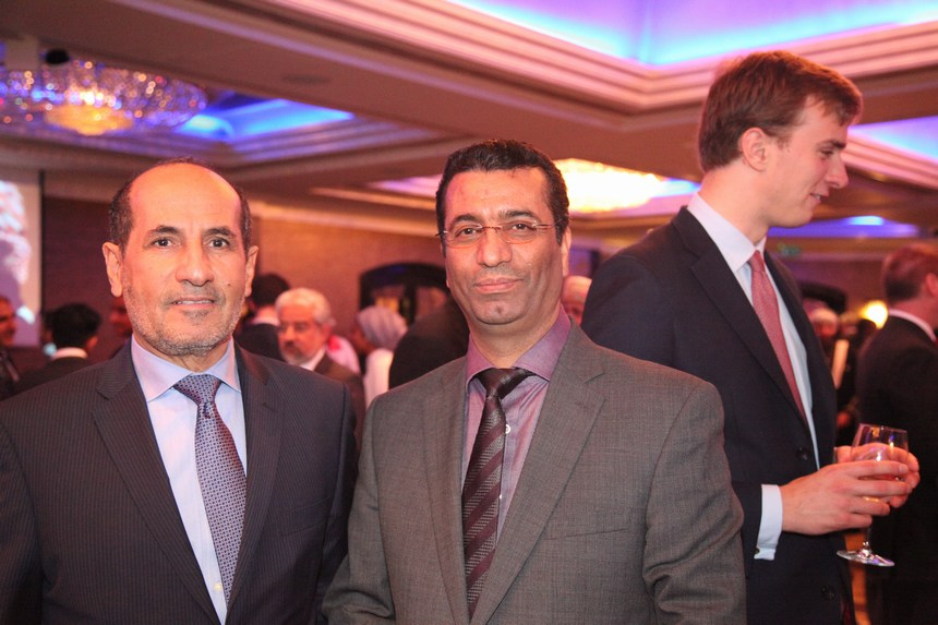 سفيرا الإمارات عبد الرحمن غانم المطيوعي، والعراق صالح حسين علي