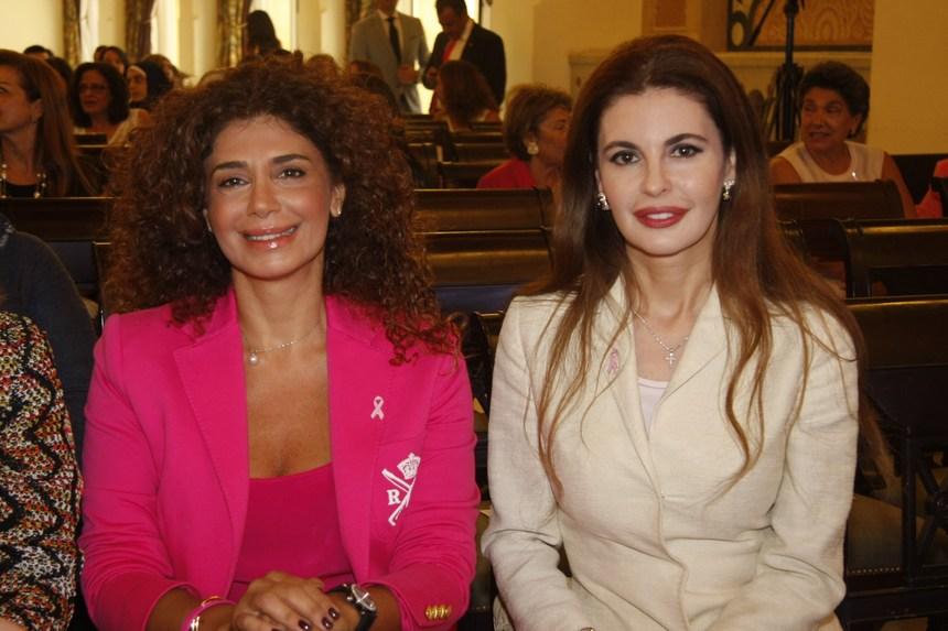 فريدا الريس وليلى مشنوق