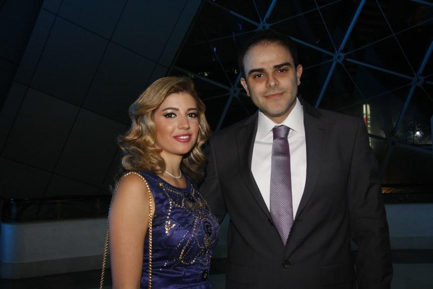 وسيم روفايل وأنجيلا غانم