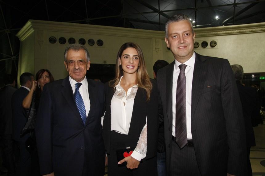 هادي وسنتيا حبيش وبشارة قرقنعي