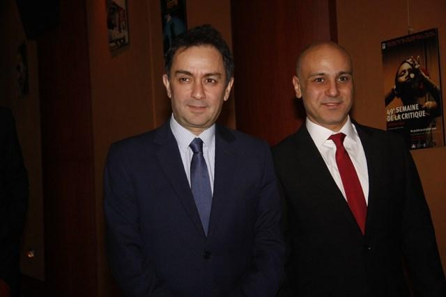 جورج صليبي والوزير السابق زياد بارود