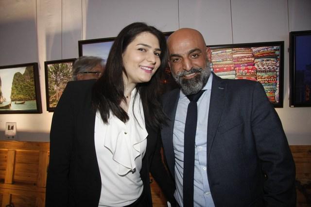 عباس دياب وغنوة سرور