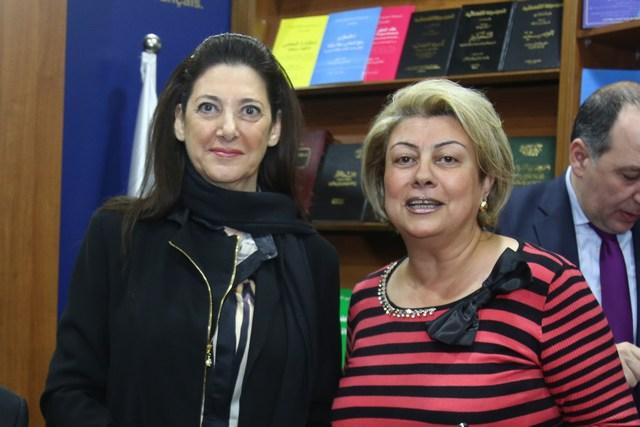 ماريا أبو رجيلي وأمل حداد
