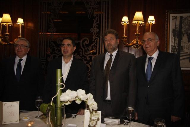 جورج نصراوي، نعمة أفرام، الوزير حسين الحاج حسن، فادي الجميّل