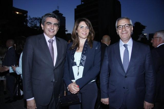 القاضي جان فهد، منال وأكرم مشرقية