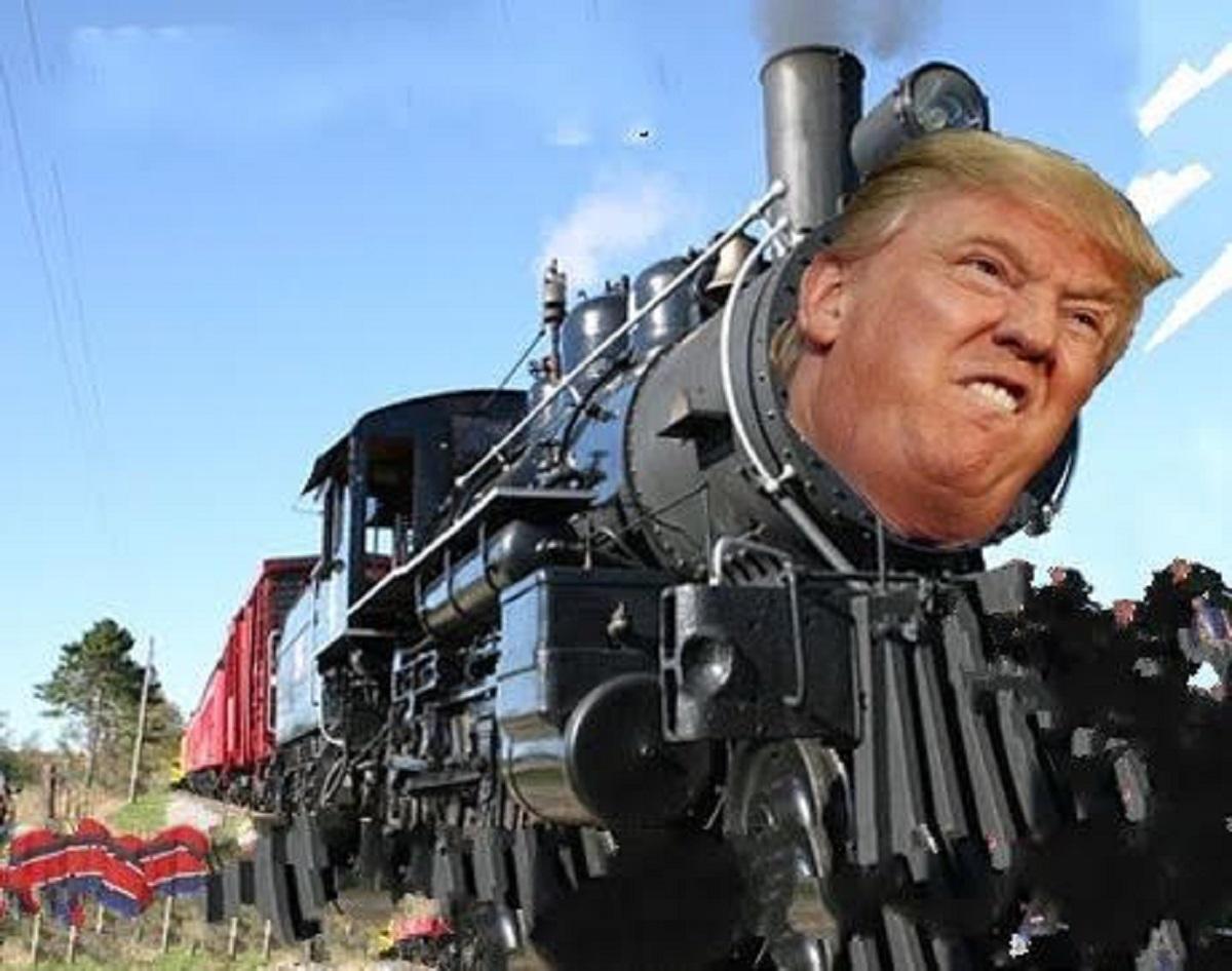 القطار الآتي إلى الشرق