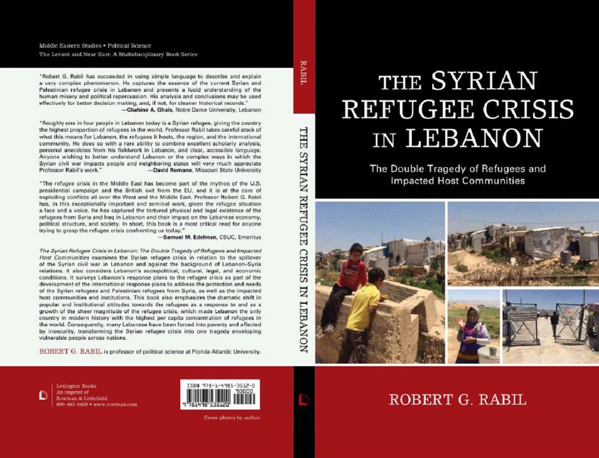 أزمة اللاجئين السوريين في لبنان يبحثها باحث أجنبي في كتاب
