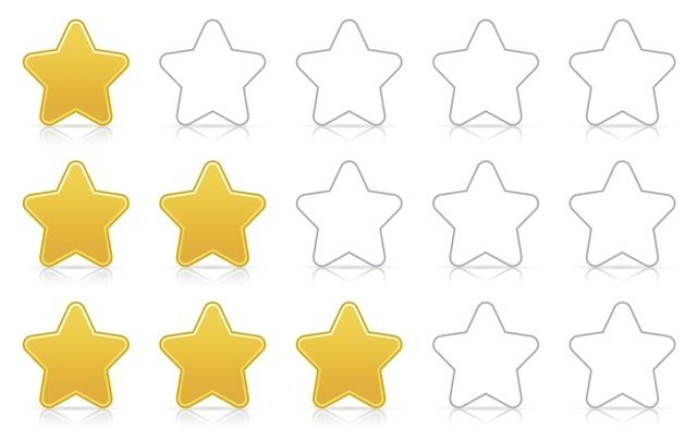 Review bintang peringkat