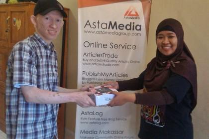 Juara 2 lomba blog AdRewa