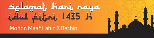 Libur Hari Raya Idul Fitri 1435 H - 2014 M