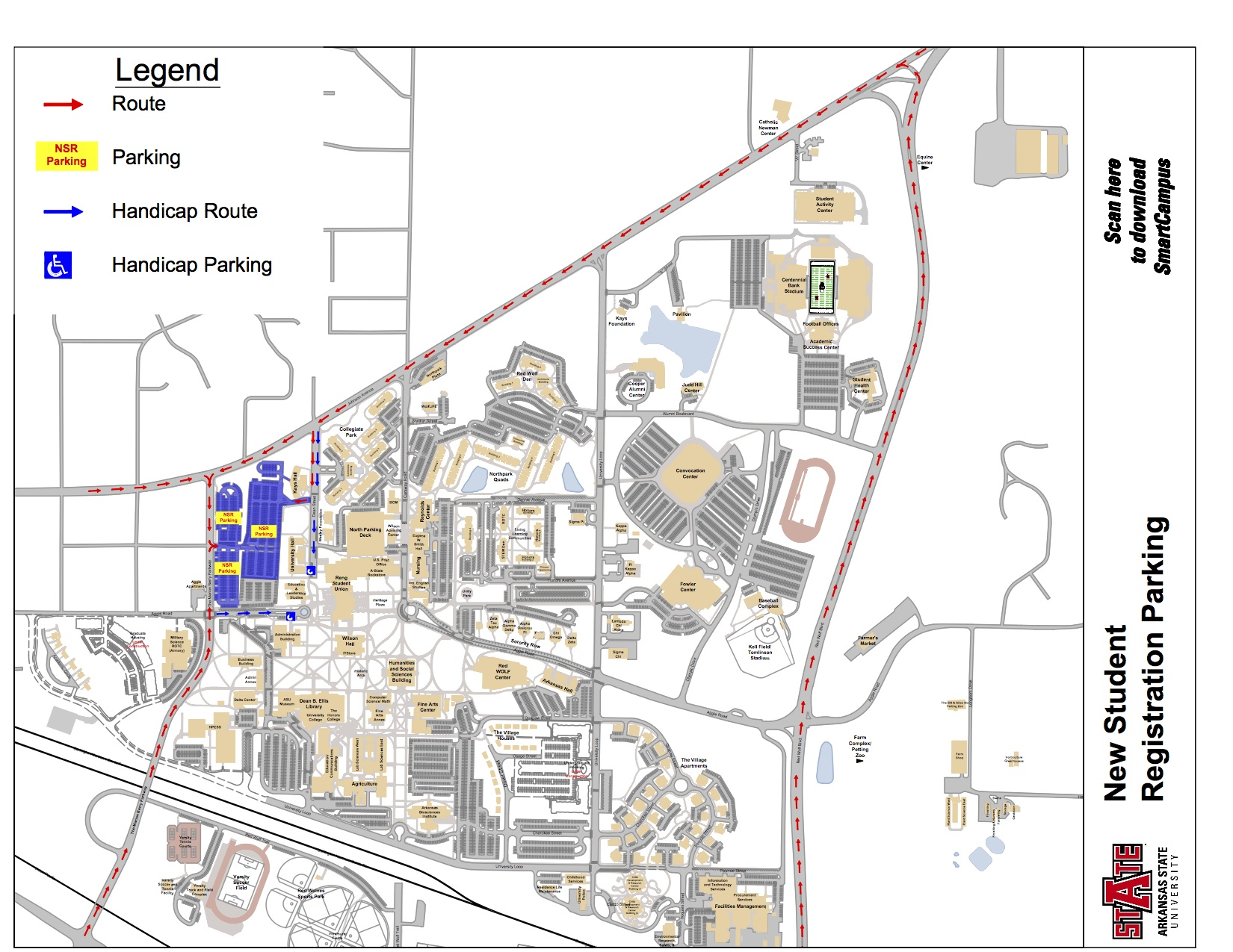 Asu Jonesboro Campus Map.Jonesboro Ar Asu Campus Map
