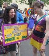 Rabbi Debra Kolodny | As the Spirit Moves Us. Portland Pride '13