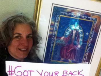 Rabbi Debra Kolodny   As the Spirit Moves Us. Got your back with D'vorah