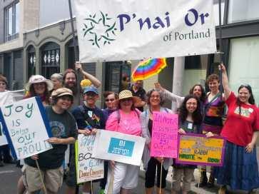 Rabbi Debra Kolodny | As the Spirit Moves Us. P'nai Or at Portland Pride '13
