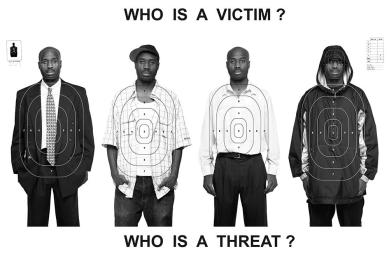 Who Is A Threat? Who Is A Victim, 2019 by Bayeté Ross Smith