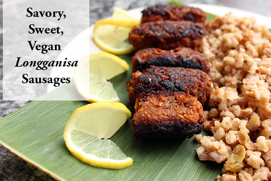 Vegan Longganisa Sausages (Plus Free Guide)