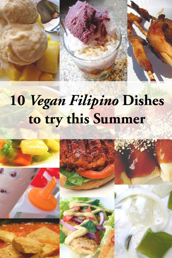 10 Vegan Filipino Dishes for the Summer