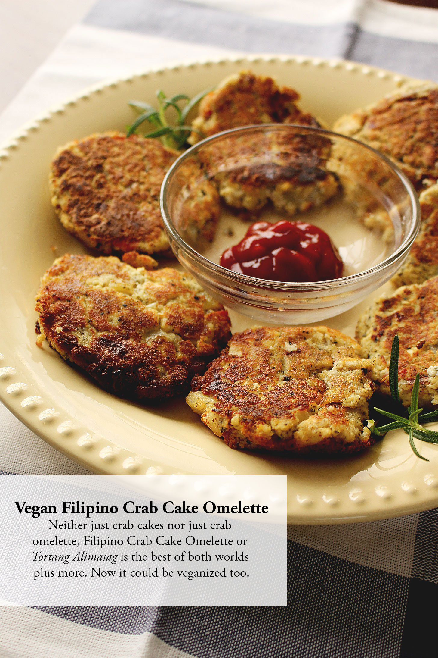 FILIPINO CRAB CAKE OMELETTE