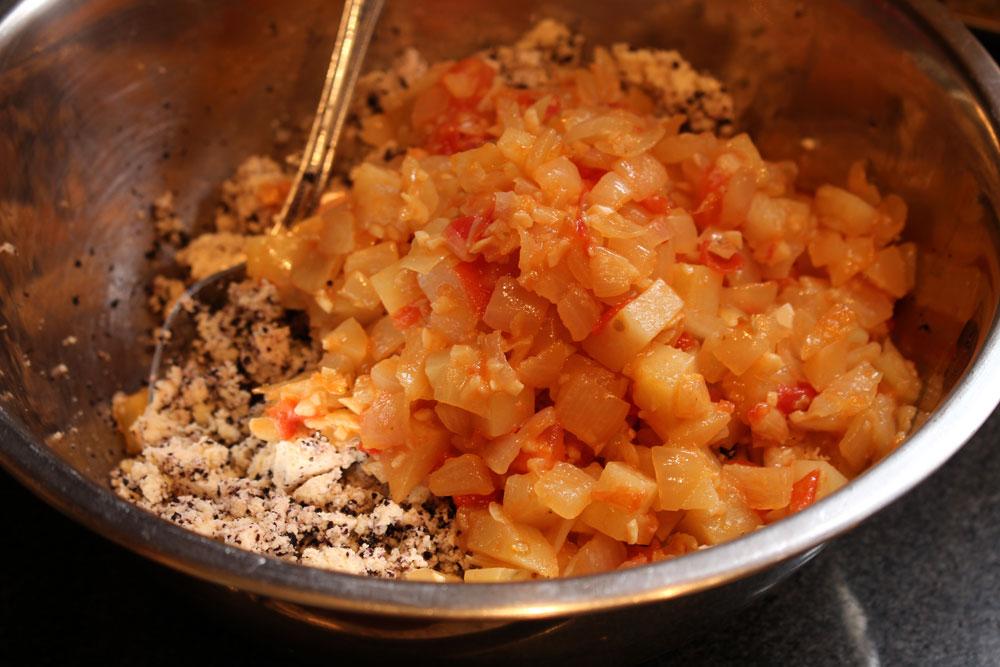 Vegan Filipino Crab Cake Omelette (Tortang Alimasag) -ASTIG VEGAN
