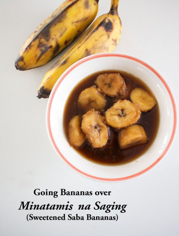 Minatamis na Saging (Sweetened Saba Bananas)