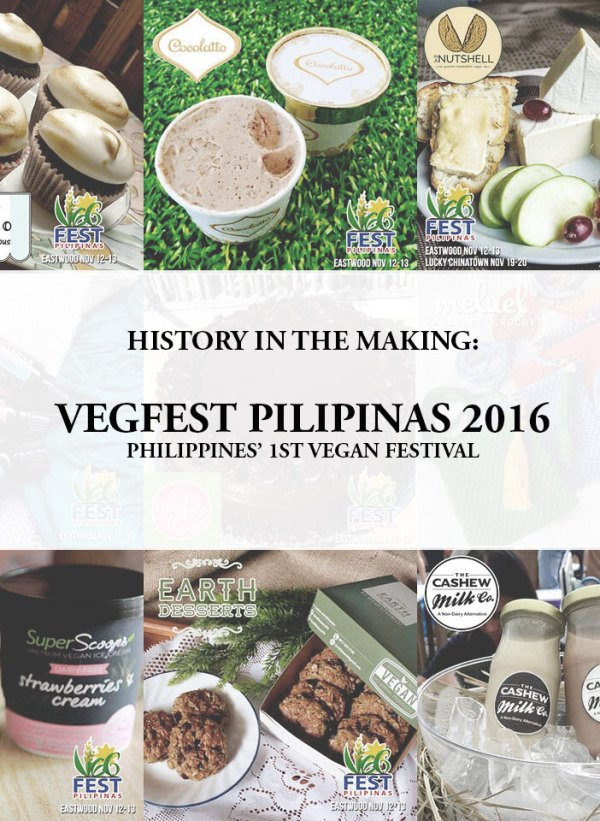 Philippines' 1st Vegan Festival, Vegfest Pilipinas 2016
